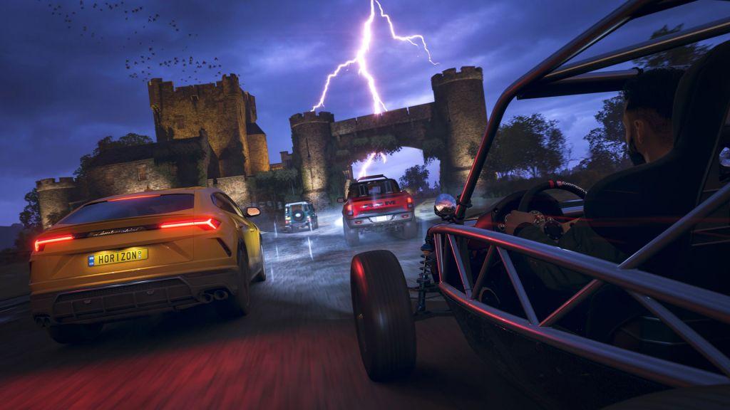 Гайд по загадкам и сокровищам острова Фортуна для Forza Horizon 4 - где найти все спрятанные сундуки