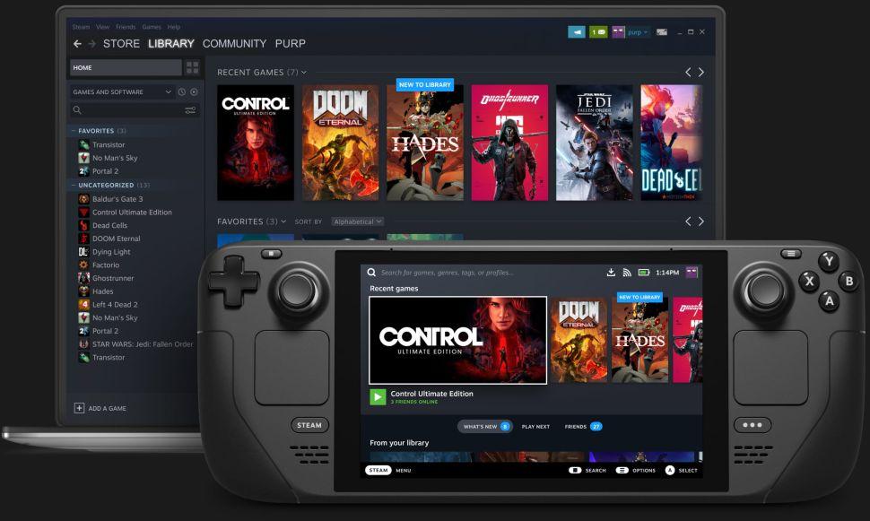Steam Deck - это портативный ПК от Valve для Switch, который выйдет в декабре