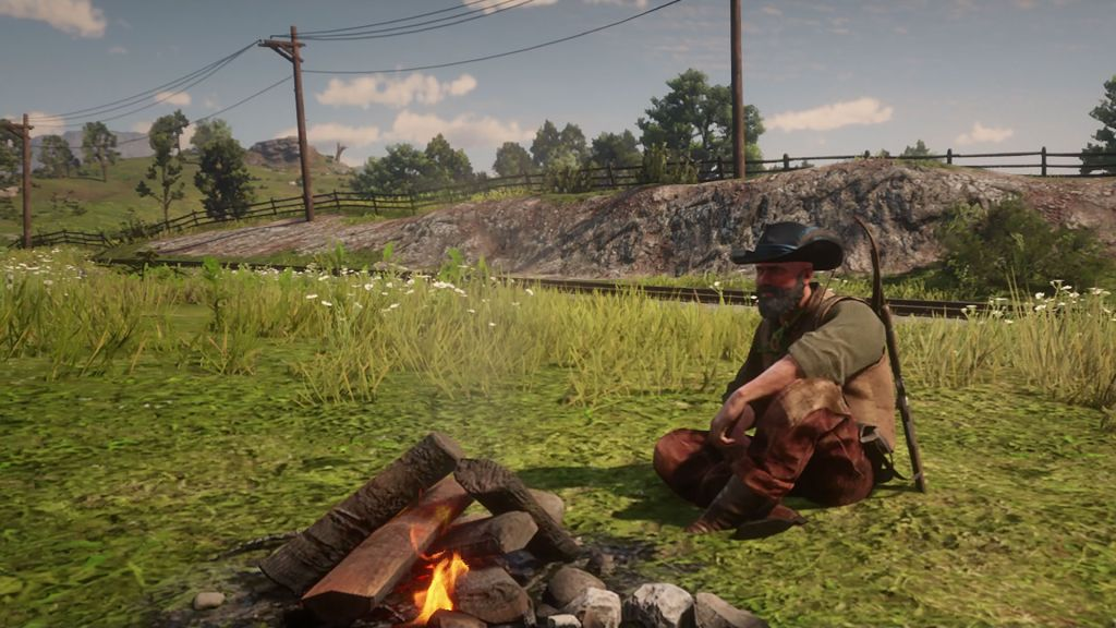Red Dead Online Wilderness Camp - как разблокировать и настроить Wilderness Camp